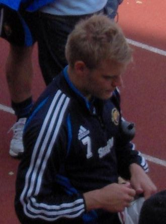 Johan Arneng - Arneng while playing for Djurgårdens IF.