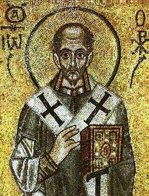 Antiochian Greek Christians - John Chrysostom.