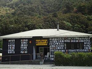 Otira - John Burns Gallery of Modern Art nestled in the Ōtira valley