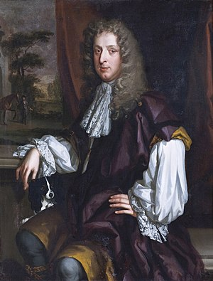 John Lovelace, 3rd Baron Lovelace - John Lovelace circa 1670