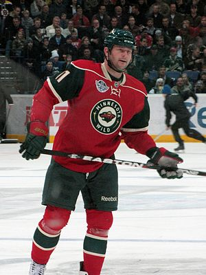 John Madden (ice hockey) - Madden pictured during his tenure with Minnesota Wild.
