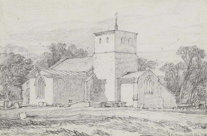 John Sell Cotman - Melton Church, Norfolk