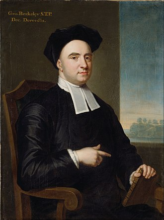 "Dublin Philosophical Society - George Berkeley, who presented a paper entitled ""Of Infinites"", in November 1707."