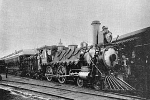 1891 in rail transport - John A. Macdonald's funeral train.