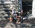 Jongetje met loopfiets in Amsterdam 2009 (cropped).jpg