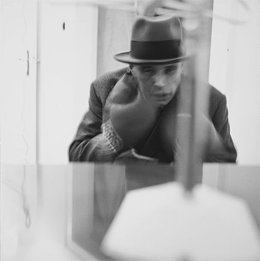 Joseph Beuys Filtz TV by Lothar Wolleh