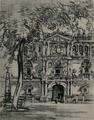 Joseph Pennell (1903) fachada de la Universidad de Alcalá.png