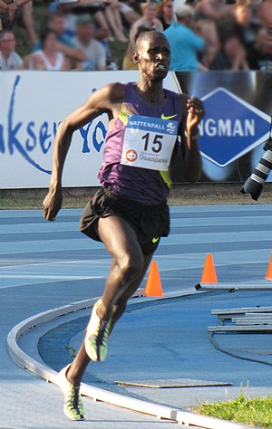 Track and field at the 2011 Military World Games - Josphat Kiprono Menjo was one of many Kenyan long-distance medallists.