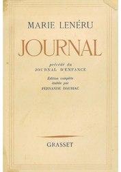 Marie Lenéru: Journal, précédé du Journal d'enfance