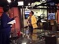 Joy-Ann Reid and Marcia Fudge speaking on set at MSNBC.jpg