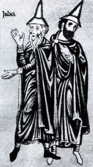History of the Jews in England (1066–1290) - Medieval Jews forced to wear special hats