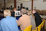 Judges take a close look at the entries for the 2011 Federal Junior Duck Stamp Contest.jpg