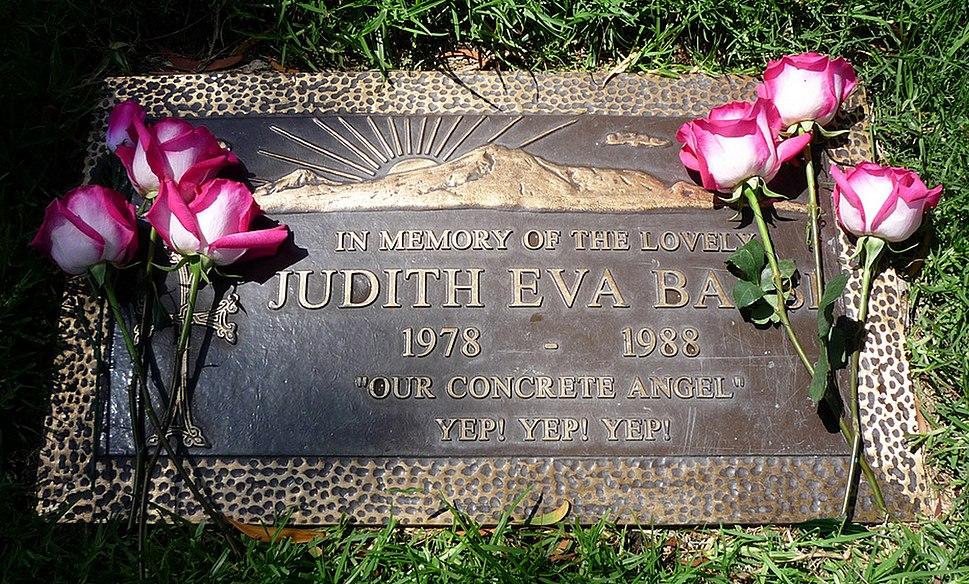 Judith Barsi Headstone Grave