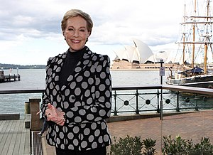Julie Andrews - Dame Julie Andrews, May 2013, in Sydney Australia.