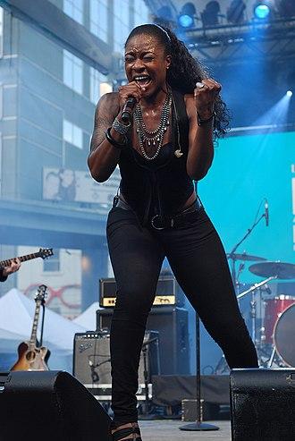 Jully Black - Black performing at Luminato in June 2010