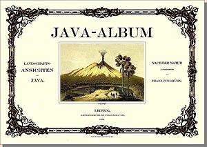 Franz Wilhelm Junghuhn - The landscape of Java's album by Junghuhn.