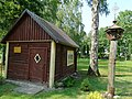 Juodeikiai, tėvo Stanislovo namas.JPG