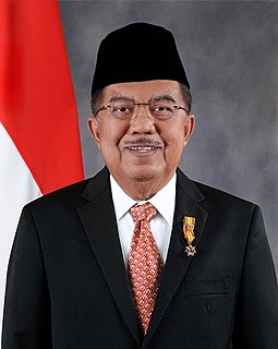 Jusuf Kalla 10th and 12th Vice President of Indonesia