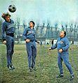 Juventus FC 1971-72 - Training Session - Morini, Salvadore, Vycpálek.jpg
