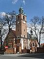 Kłecko (p.Gniezno) nr 17 A, późnogotycki kościół św.Jerzego i św.Jadwigi (przeb. 1781) f2012-04-22 AdaM.JPG
