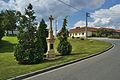 Kříž u silnice v místní části Klárky, Suchdol, okres Prostějov.jpg