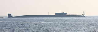 Russian submarine <i>Yury Dolgorukiy</i> (K-535)
