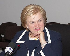 Government of Lithuania - Kazimiera Prunskienė, the first Prime Minister of independent Lithuania