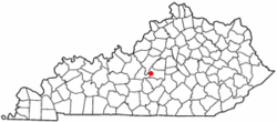 Location of Raywick, Kentucky