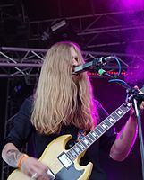 Kadavar (German Psychedelic Rock Band) (Krach Am Bach 2013) IMGP8899 smial wp.jpg