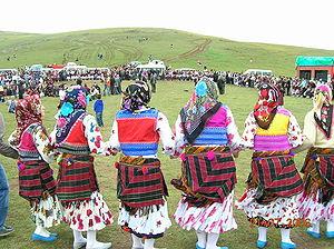 Kadirga Festival - Traditional dancing in festival time