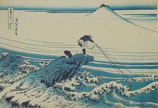 <i>Aizuri-e</i> Japanese woodblock prints