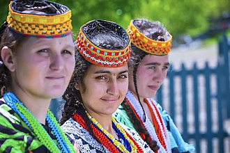 Kalash people - Kalash women
