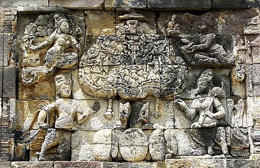 Kalpataru, Kinnara-Kinnari, Apsara-Devata, Pawon Temple