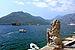 Kamienny lew i Zatoka Kotorska w Peraście 02.jpg
