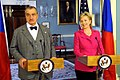 Karel Schwarzenberg and Hillary Clinton.jpg