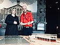 Karen Bradley MP visits Titanic Belfast (26567320127).jpg