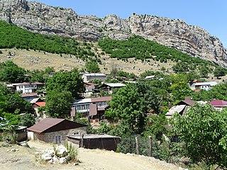 Dashalty Place in Shusha, Azerbaijan