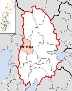 Karlskoga Municipality Wikipedia - Karlskoga sweden map