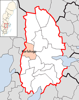 Karlskoga Municipality - Image: Karlskoga Municipality in Örebro County