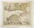 Karta över Finska viken med södra Finland, Estland samt Ingermanland och Ladoga, från 1742 - Skoklosters slott - 97952.tif