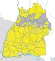 Karte Gemeinden Baden-Württemberg März 2015 Artikel alswiki.png
