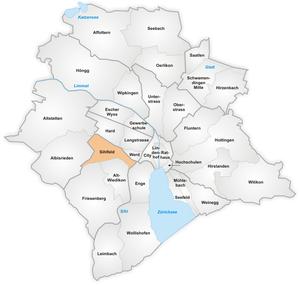 Sihlfeld - The quarter of Sihlfeld in Zurich.