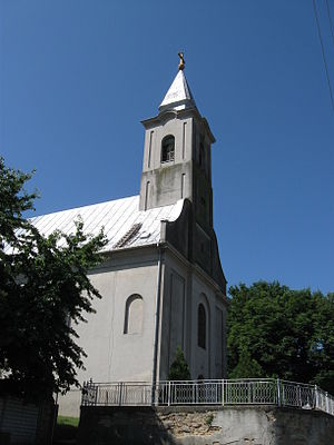 Stara Moravica - The Catholic church.