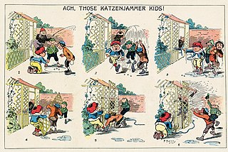 <i>The Katzenjammer Kids</i> comic strip
