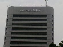 Kementerian Badan Usaha Milik Negara Republik Indonesia Wikipedia