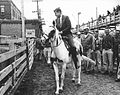 Kennedy campaigns on horseback in Iowa 1960 (cropped2).jpg