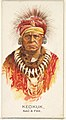 Keokuk, Sac and Fox, from the American Indian Chiefs series (N2) for Allen & Ginter Cigarettes Brands MET DP827997.jpg