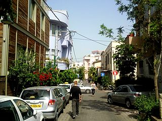 "Kerem HaTeimanim ""Yemenite Street"" in Tel Aviv"