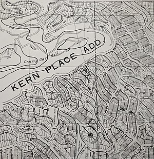 Kern Place - Kern Place Addition Map