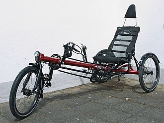 Tricycle - Delta layout Hase Spezialräder Kettwiesel